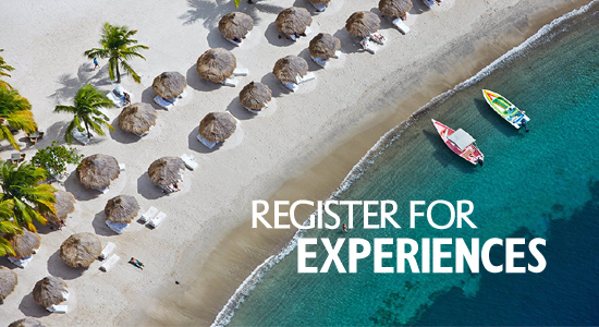 Sugar Beach Honeymoon Registry | Register For Experiences