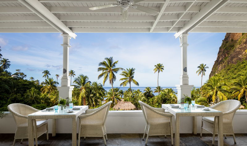 Breakfast in Paradise for Two at The Terrace